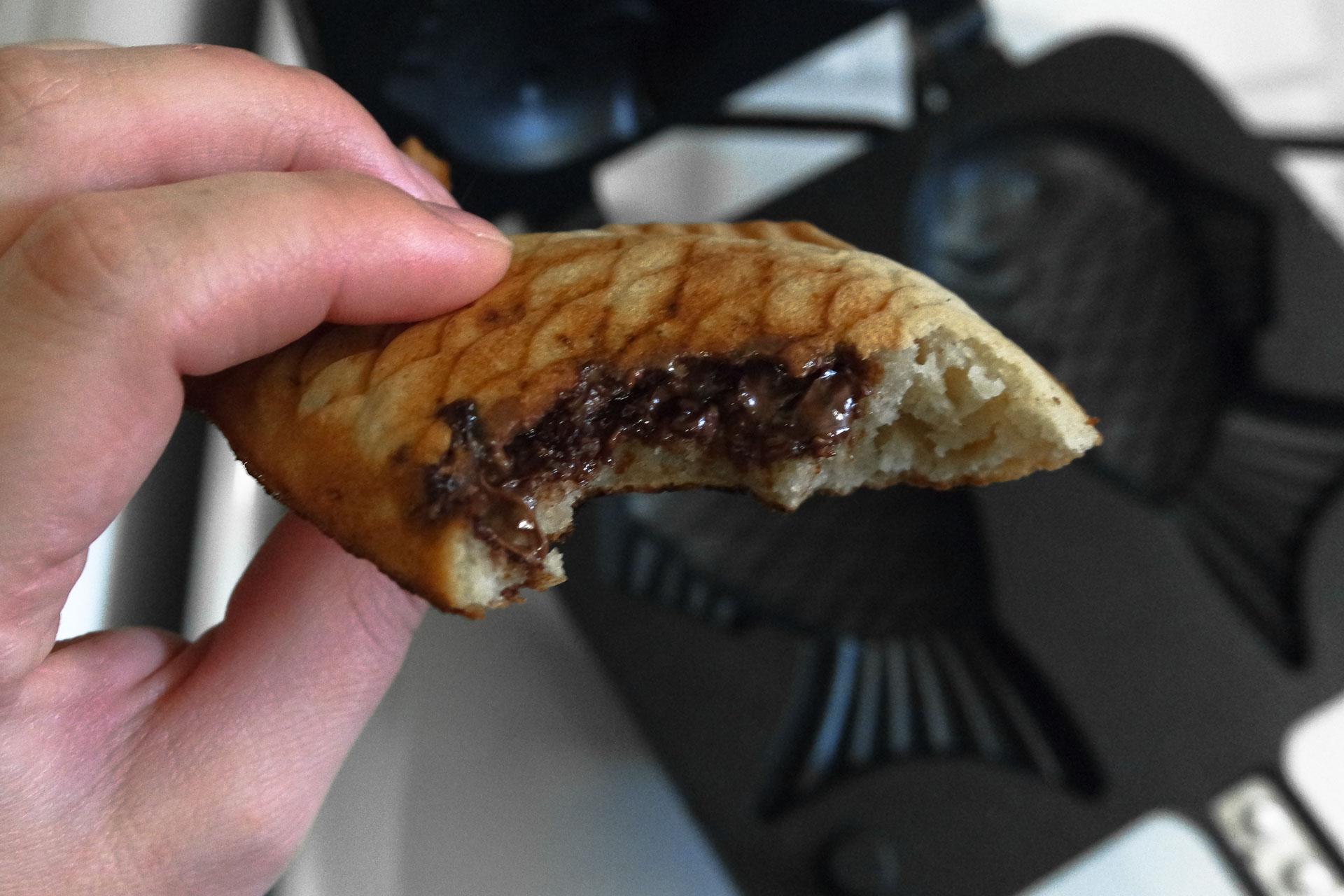 Recette des taiyaki, fourrage au chocolat