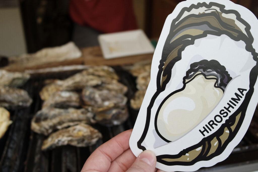 Gotochi card challenge huître d'Ono Seto, préfecture d'Hiroshima