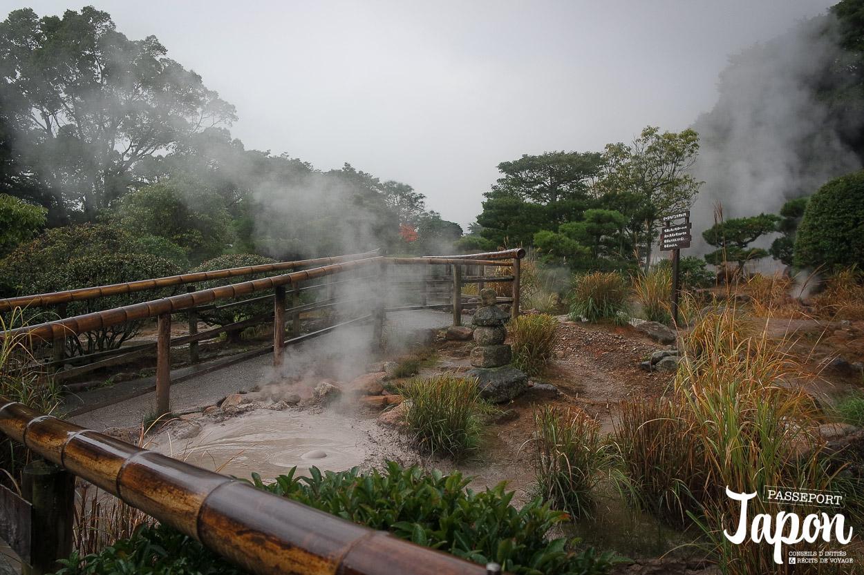 Enfer de bozu jigoku, Beppu, préfecture d'Oita
