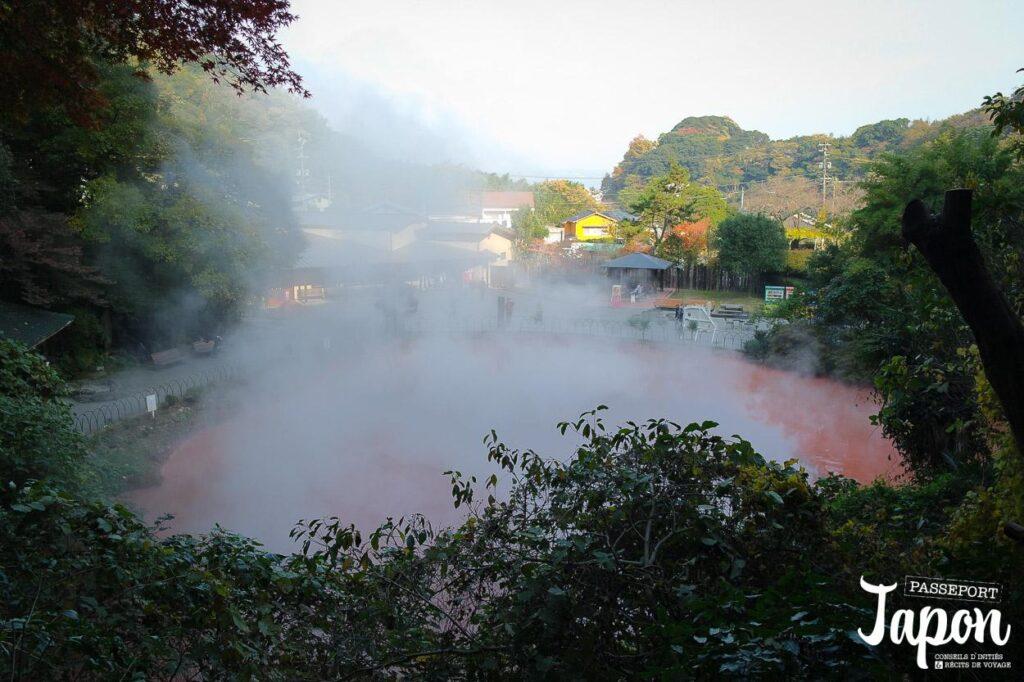 Enfer de Chinoike jigoku, Beppu, préfecture d'Oita