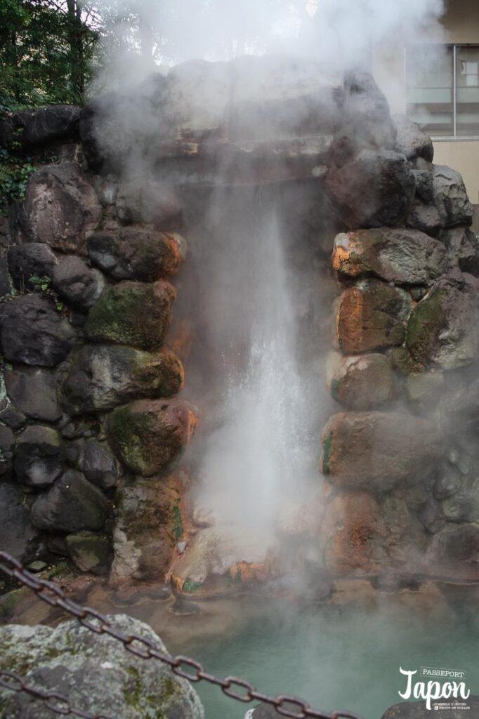 Jeyser, Enfer de Tatsumaki jigoku, Beppu, préfecture d'Oita