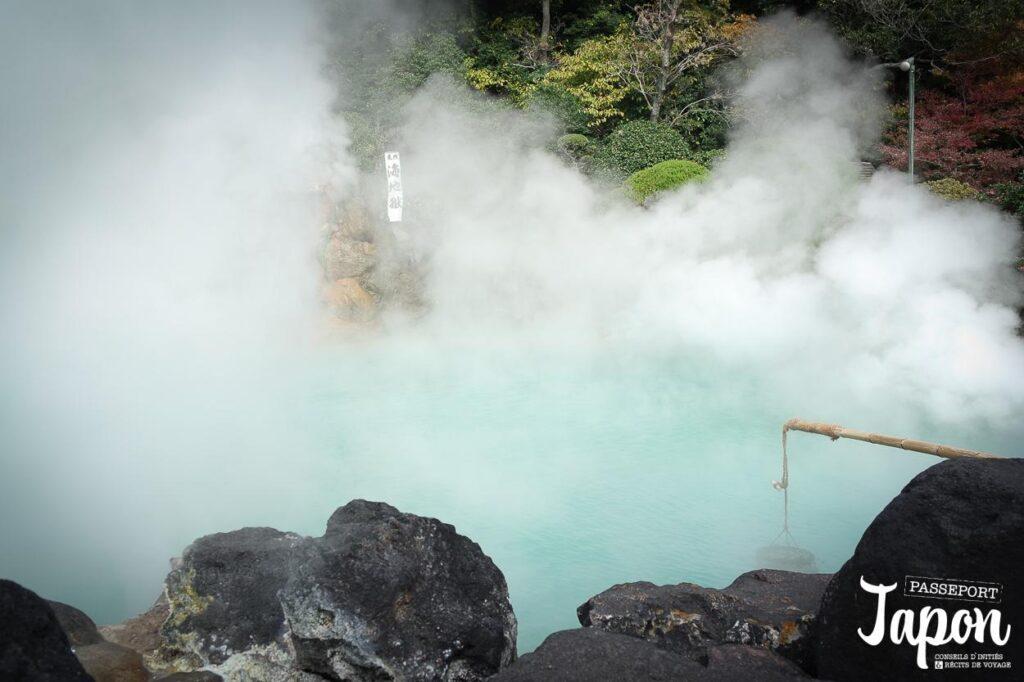 Enfer d'Umi jigoku, Beppu, préfecture d'Oita