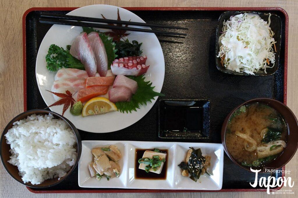 Plateau déjeuner restaurant Wasen, Yufuin, préfecture d'Oita