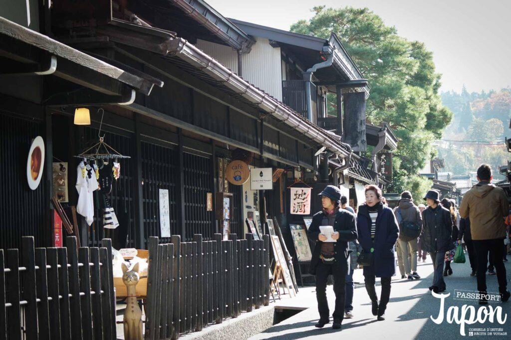 Rue commerçante, Takayama, préfecture de Gifu