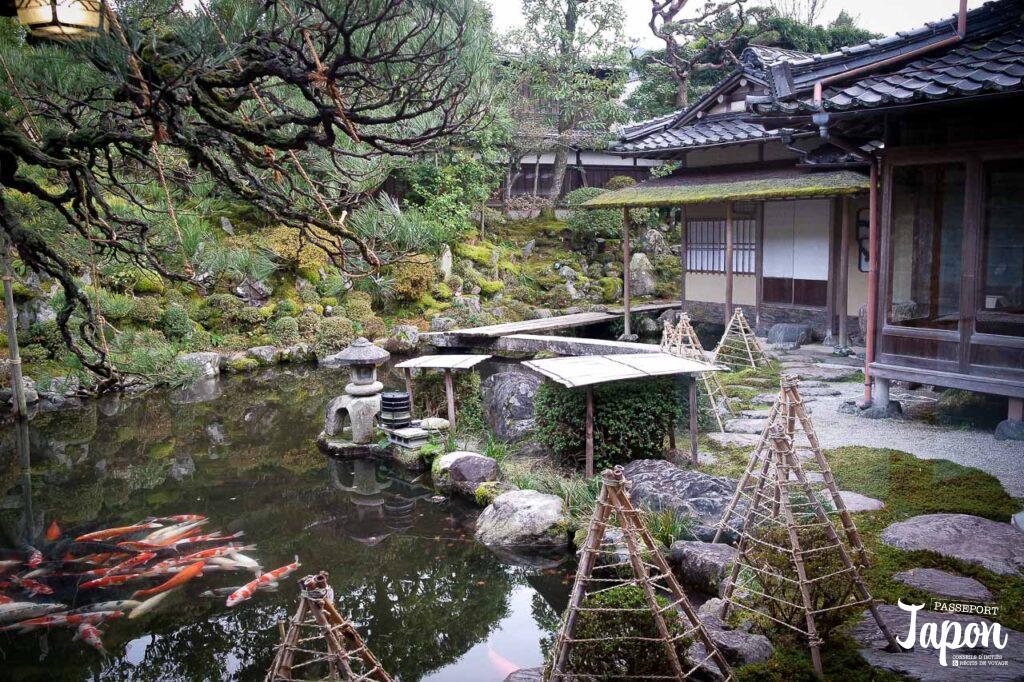 Le jardin de la maison Ishitani, Chizu, préfecture de Tottori