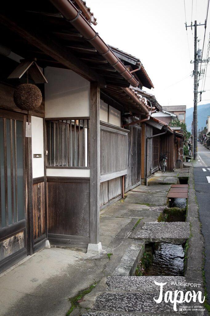 Ruelle à Chizu, préfecture de Tottori