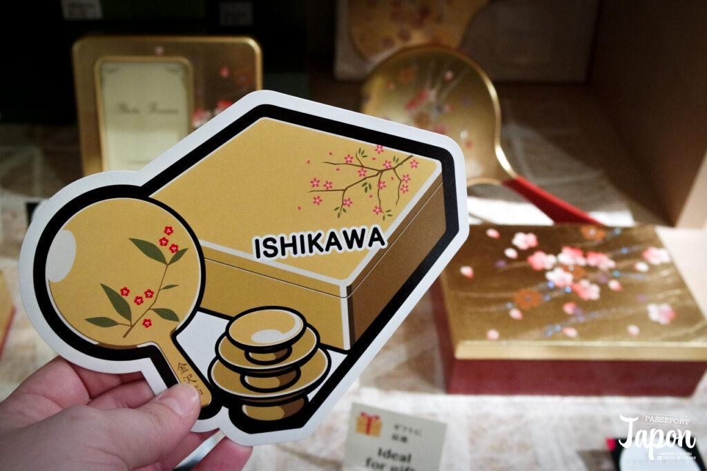 Gotochi card challenge feuille d'or, Kanazawa, préfecture d'Ishikawa