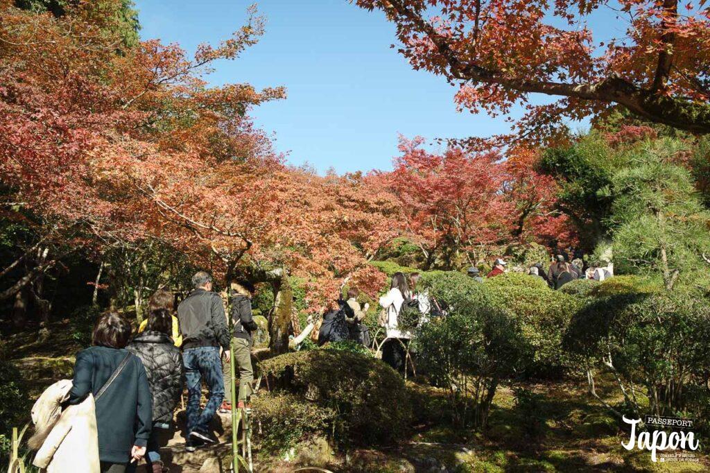 Foule à Kunenan, Kanzaki, préfecture de Saga