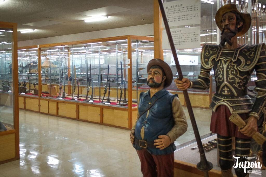 Salle d'exposition du musée Watanabe, préfecture de Tottori