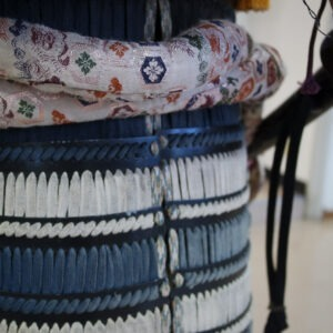 Tenue de samourai au musée Watanabe, préfecture de Tottori
