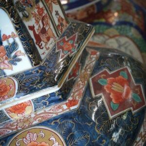 Vases anciens au musée Watanabe, préfecture de Tottori