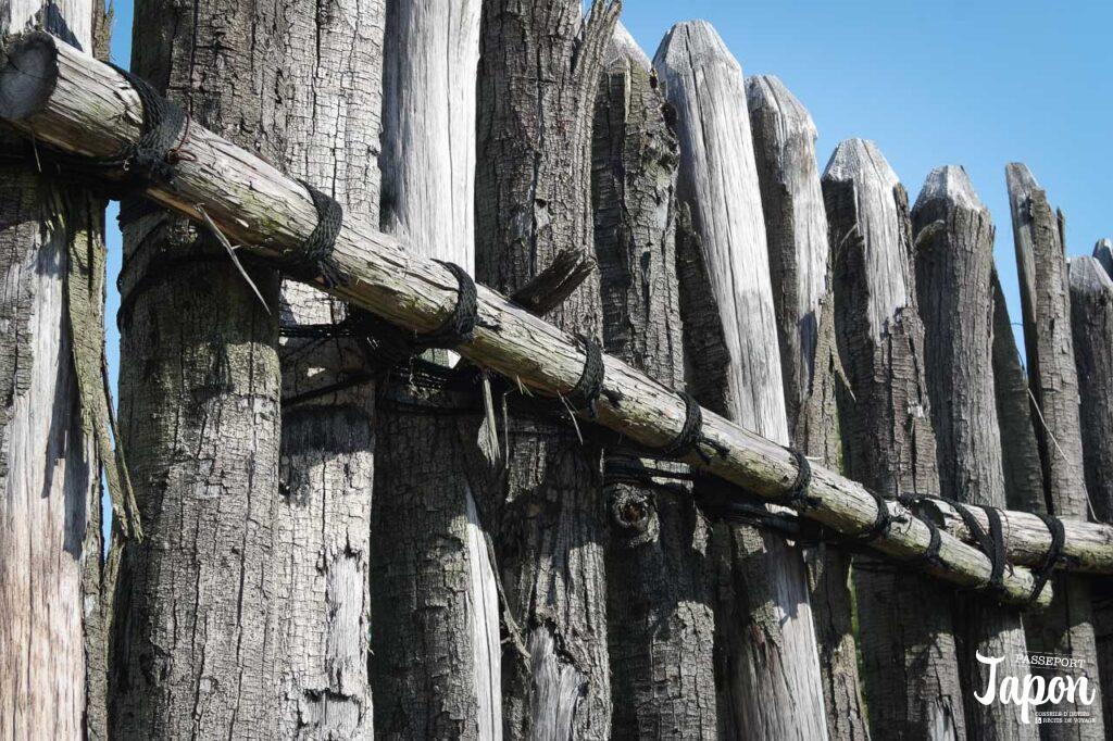 Enceinte de bois du parc Yoshinogari, Kanzaki, préfecture de Saga
