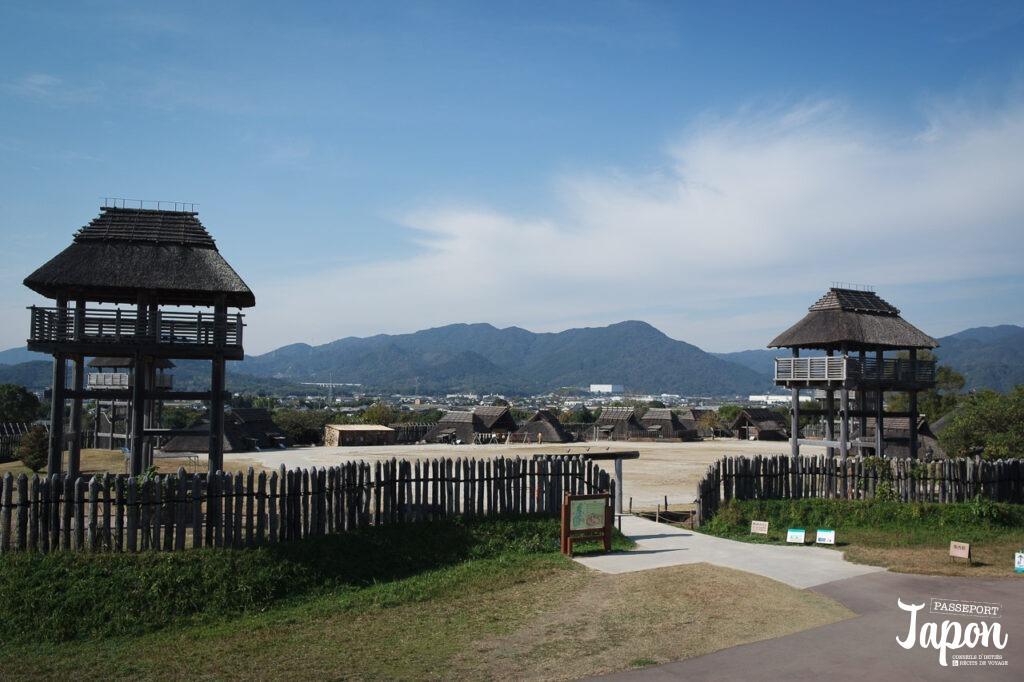 Enceinte Minaminaikaku au parc Yoshinogari, Kanzaki, préfecture de Saga