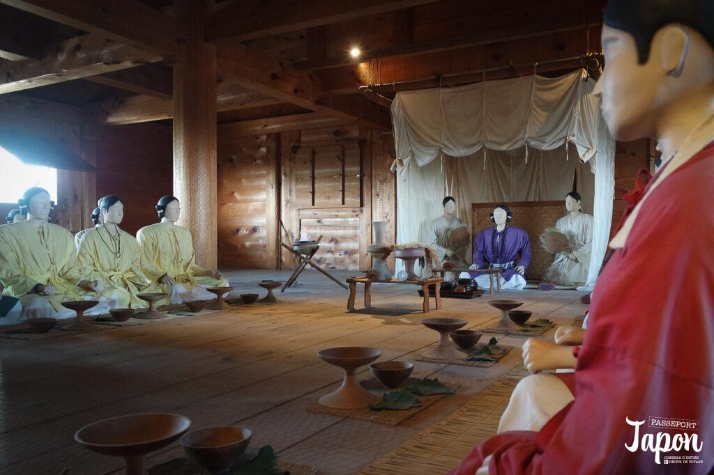Reconstitution au parc Yoshinogari, Kanzaki, préfecture de Saga