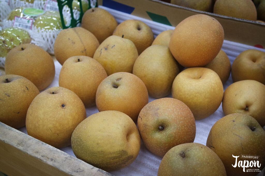 Poires nashi, préfecture de Tottori