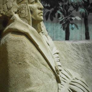 Sculpture au musée du sable, préfecture de Tottori