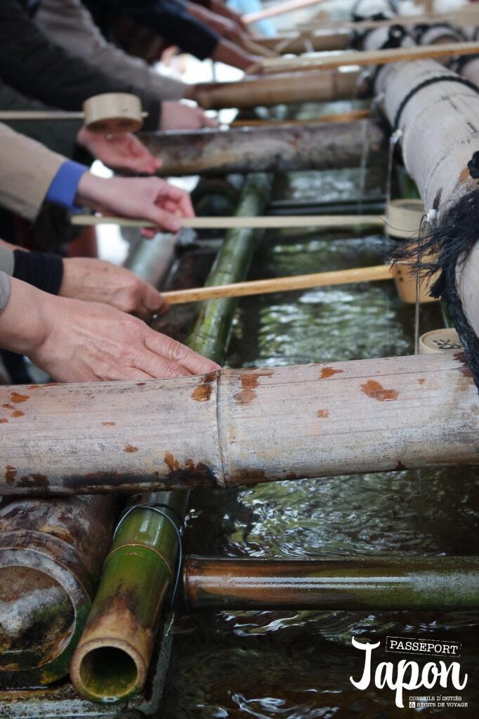 Ishaku, sanctuaire Fushimi Inari Taisha, préfecture de Kyoto