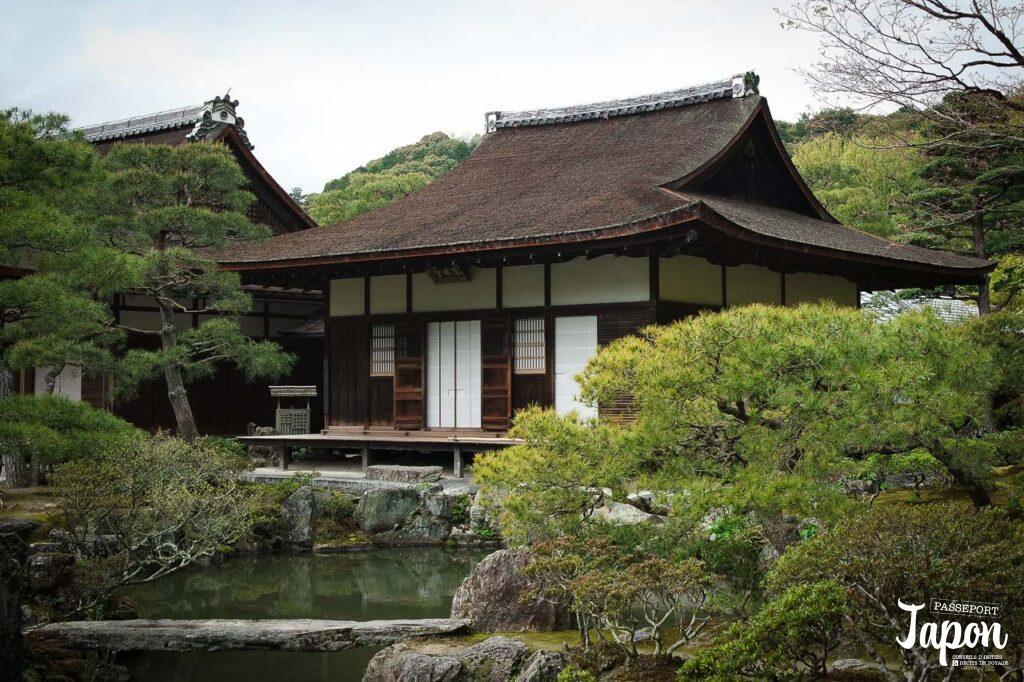 Tôgudo du Ginkakuji, préfecture de Kyoto