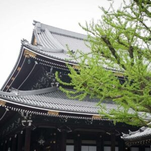 Temple Higashi Honganji, préfecture de Kyoto