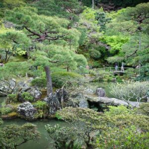 Jardin du Ginkakuji, préfecture de Kyoto