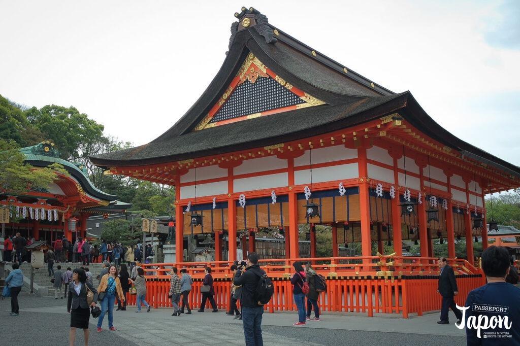 Sanctuaire Romon, Fushimi Inari Taisha, préfecture de Kyoto