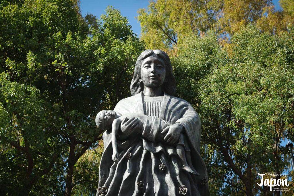 Statue au parc de la paix, Nagasaki