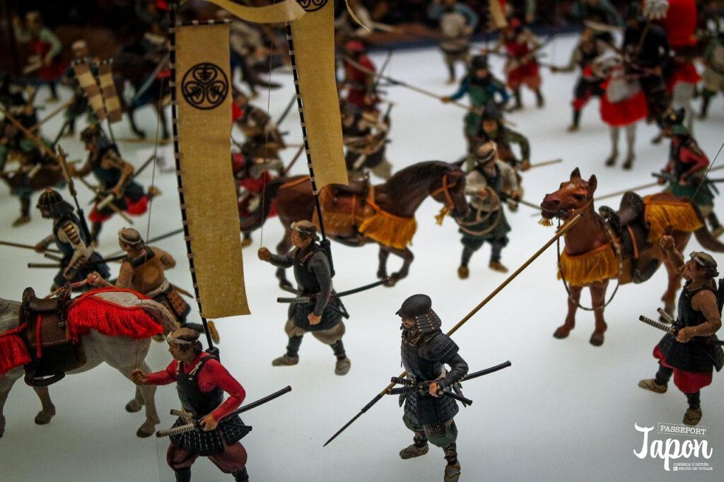 Diorama au musée du château d'Osaka