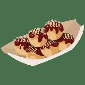 takoyaki illustration